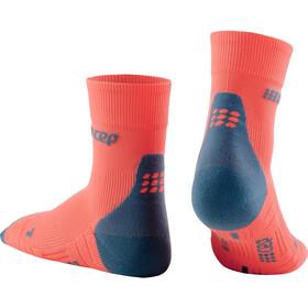 cep Short Socks 3.0 Hombre, coral/grey